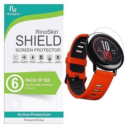 Amazon.com: RinoGear - Protector de pantalla para Amazfit ...