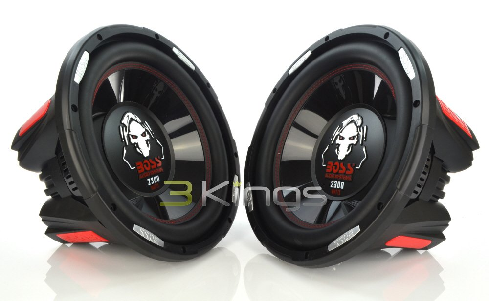 PAIR BOSS AUDIO P126DVC Phantom 12'' 4600W Car Power Subwoofers