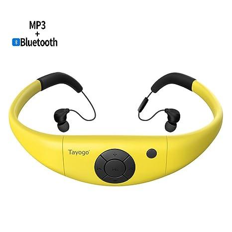 Tayogo Lettore MP3 Subacqueo Nuoto f7fbdcc2350d