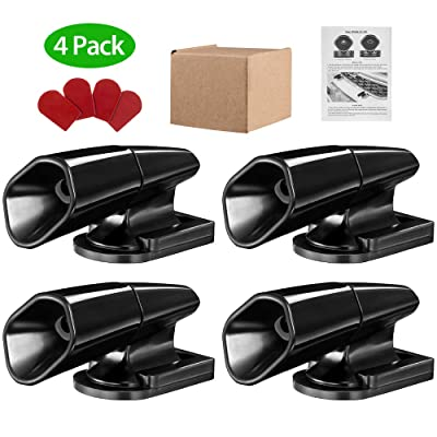 IPARTS EXPERT Deer Whistles for Car Motorcycle 4 Pack Warning Devices for Vehicles Truck Deer Horn for Car (with 4 Extra Adhesive Tapes): Automotive