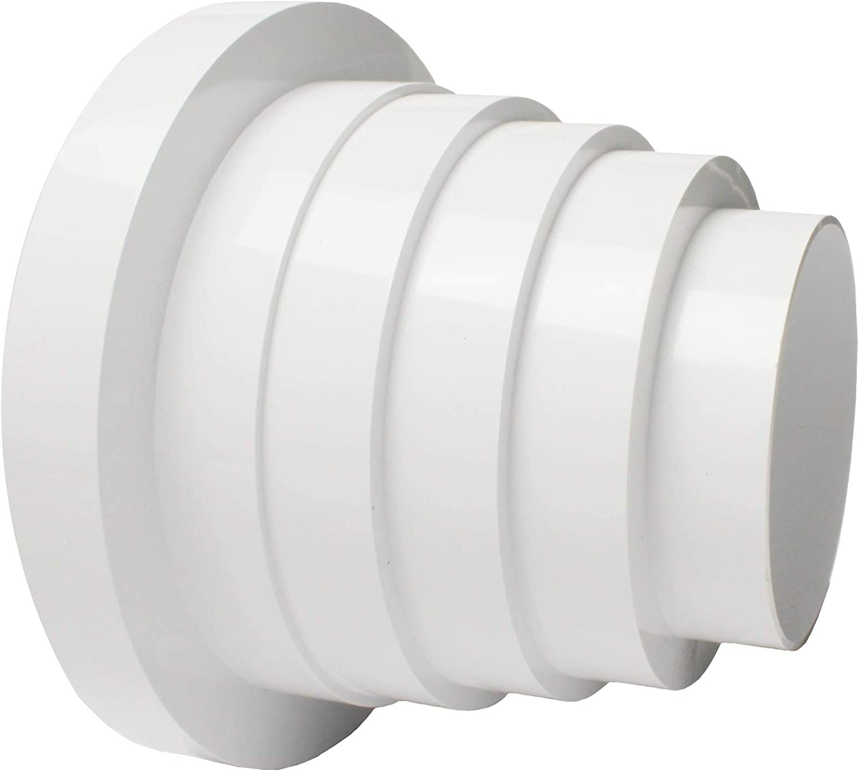 MKK/® Rundrohrsystem Reduzierst/ück Rohrverbinder Verbinder Mehrstufig Multireduzierer