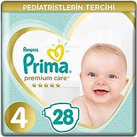 Prima Bebek Bezi Premium Care, 4 Beden, 28 Adet, Maxi Ekonomi Paketi