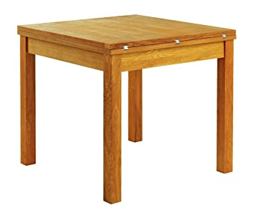 Jysk Table De Salle A Manger En Chene Silkeborg 80 X 80 160 Amazon
