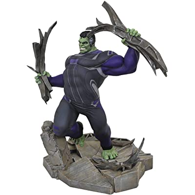 DIAMOND SELECT TOYS Marvel Gallery: Avengers Endgame Tracksuit Hulk PVC Figure: Toys & Games