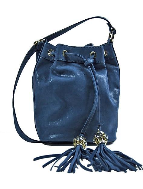 Argento Antico by Laino Industry Borse donna Collezione Borsa a sacchetto con  accessorio gioiello  Amazon.it  Scarpe e borse 82944b05b37