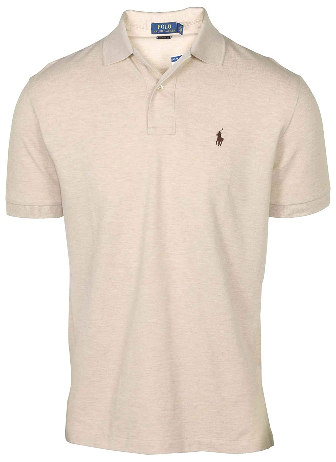 38f7ffc6eebc Polo Ralph Lauren Men's Classic Fit Mesh Polo Shirt at Amazon Men's  Clothing store: