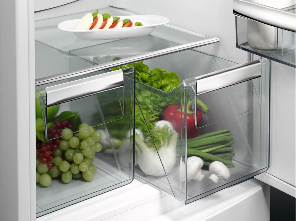 Aeg Kühlschrank Rkb64024dx : Aeg rcb nx kühl gefrier kombination gefrierteil unten a