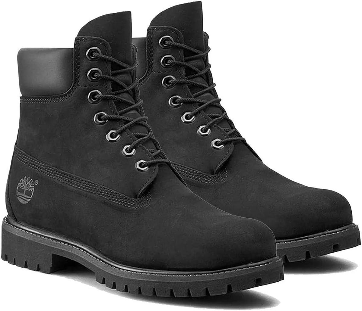[ティンバーランド] 6INCH PREMIUM WATERPROOF BOOTS ブーツ 6インチ プレミアム ウォータープルーフ 防水 ブラック 黒 10073