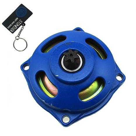 stoneder 25H 6 diente azul embrague Gear Caja de tambor para 47 cc 49 cc 2