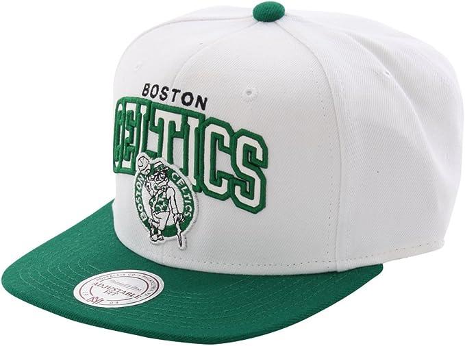 Mitchell & Ness - Gorra de NBA Boston Celtics: Amazon.es: Ropa y ...