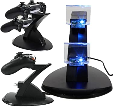 Cargador Base de Carga Dock para Mando Playstation 4 PS4 Game Controller dua: Amazon.es: Electrónica