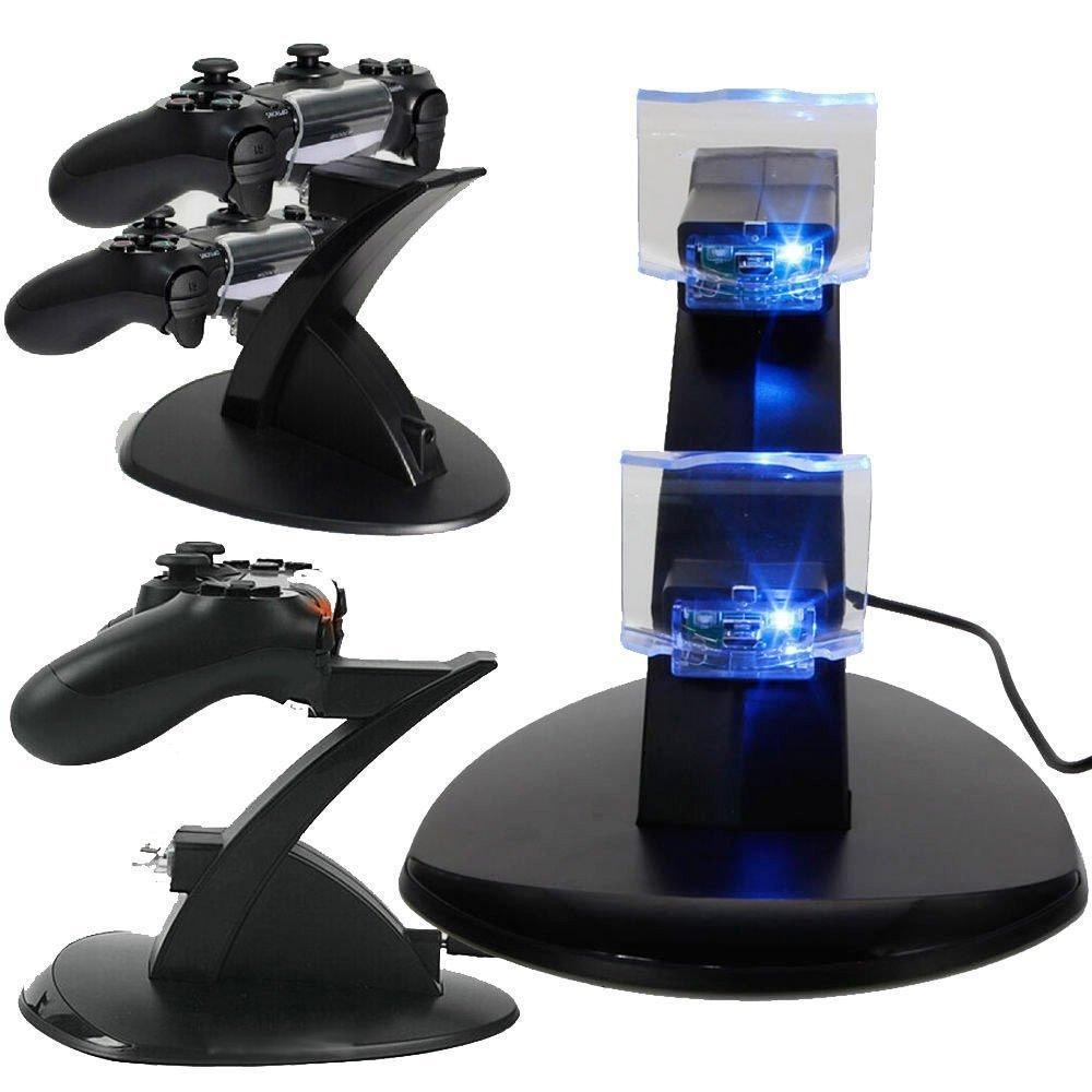 Cargador base de carga Dock para mando PlayStation 4 PS4 Game ...