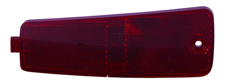 Depo 335-1411L-AF Rear Reflector (CHEVROLET HHR 06-11 DRIVER SIDE NSF)