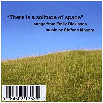 there is a solitude of space