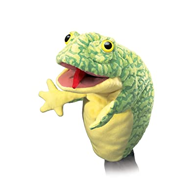 Folkmanis Frog Stage Puppet: Toys & Games [5Bkhe0801246]