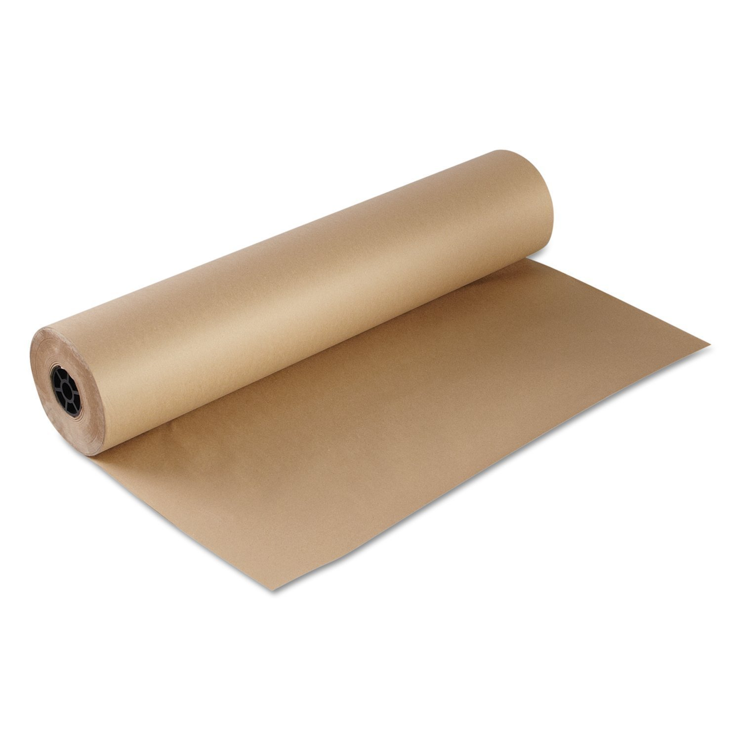 ValueMailers Kraft Paper Packaging Wrapping Paper, 36 in x 765 ft, Brown