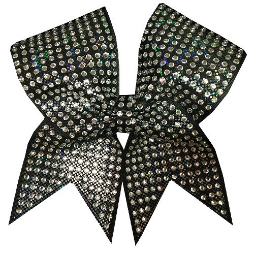 - Charmed Hologram- Black Cheer Bow