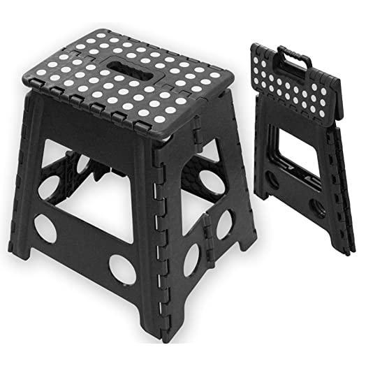 Tekbox 150KG Heavy Duty Folding Step Stool Super Strong Multi Purpose Plastic Home Kitchen Foldable Easy  sc 1 st  Amazon UK & Tekbox 150KG Heavy Duty Folding Step Stool Super Strong Multi ... islam-shia.org