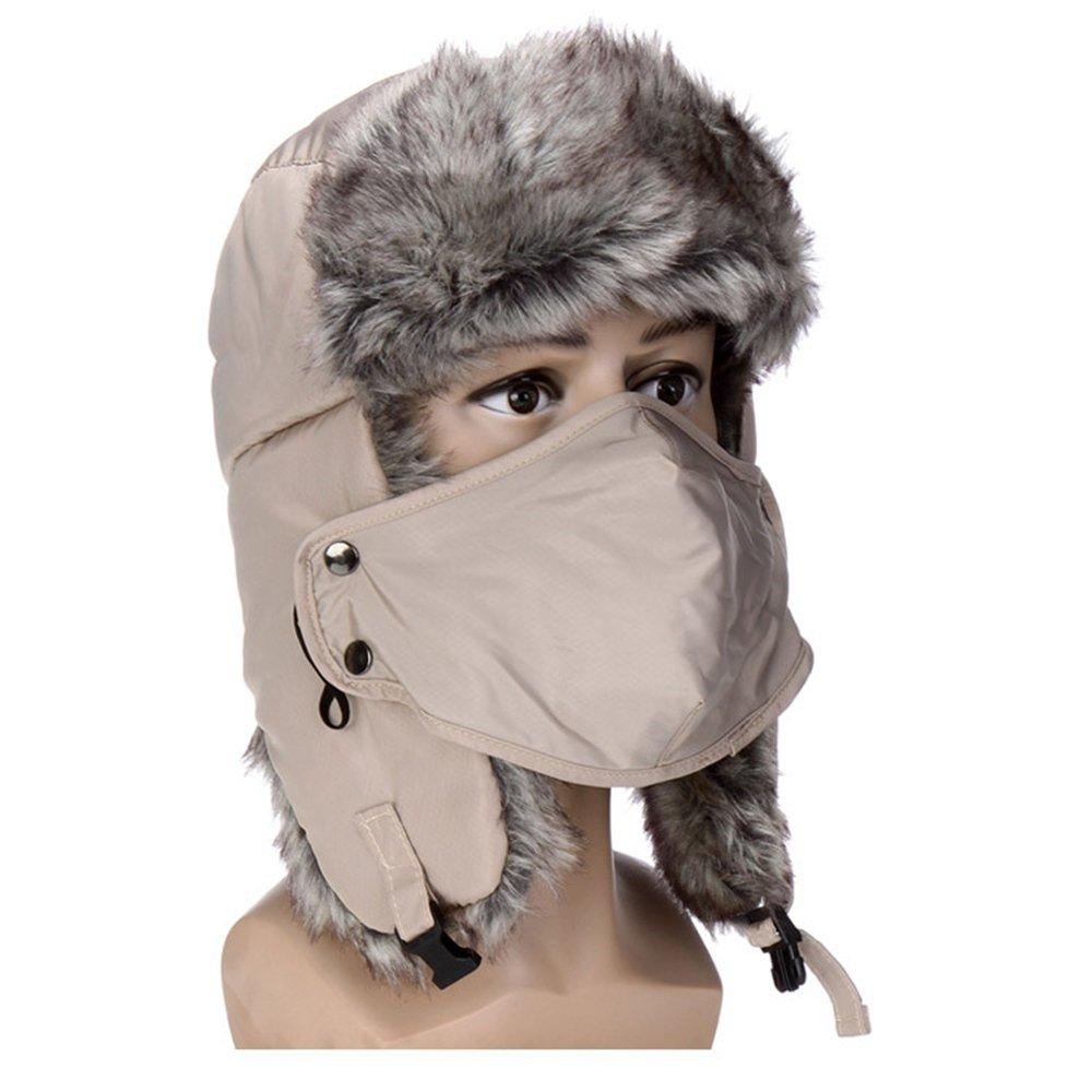 Gwood Supermodern Wasserdicht Winter Warmer Muetze Hut Ohrenklappe Fliegermütze Pelzmütze