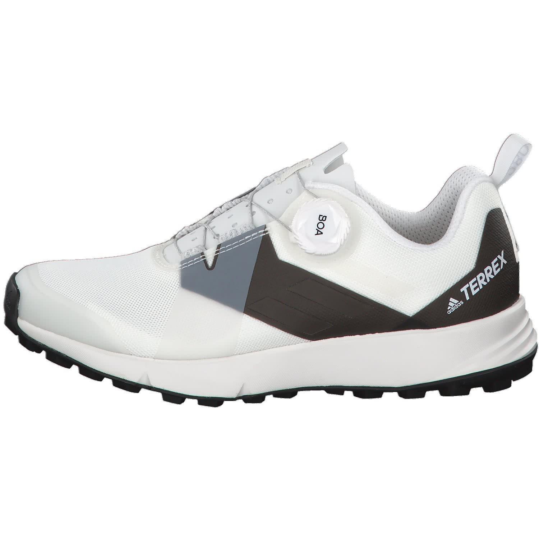 adidas Terrex Two Boa, Chaussures de Trail Femme, Noir (Cblack/Transl/Ftwwht Cblack/Transl/Ftwwht), 36 EU