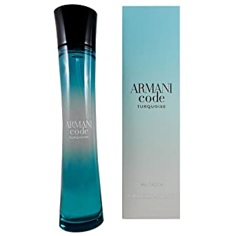 Emporio Armani Armani Code Turquoise Eau Fraîche Pour Femme Agua de Tocador - 75 ml