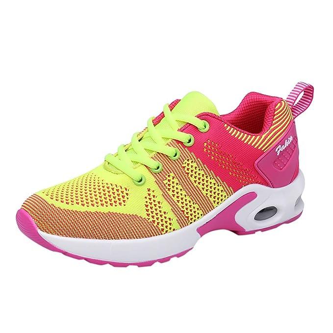 751e2a3944b7 GODRESS Calzado deportivo para mujer Moda Zapatillas de deporte ...