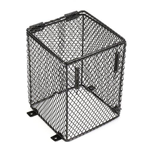 QOJA reptile basking lamp guard mesh cage light bulb protector by QOJA