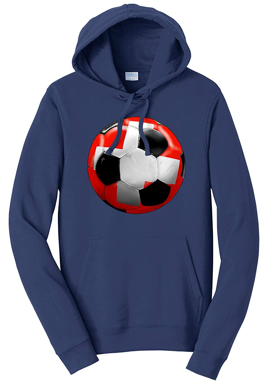 Tenacitee Unisex Switzerland Soccer Sweatshirt
