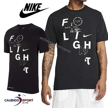 Nike M Nk tee Flight Camiseta, Hombre: Amazon.es: Deportes y