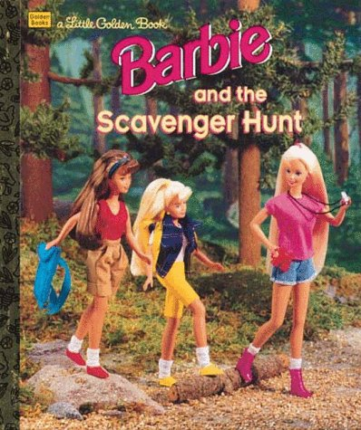 Barbie & the Scavenger Hunt (Little Golden Book)