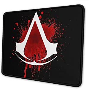 Assassin's Creed Aatwork Gaming Mouse Pad for Home and Office Game Non-Slip Thick Gaming Mousepad Multiple Sizes