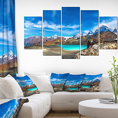 Enchanting Swiss Alps Mountains Landscape on Canvas Art Wall Photgraphy Artwork Print (Swiss Art)