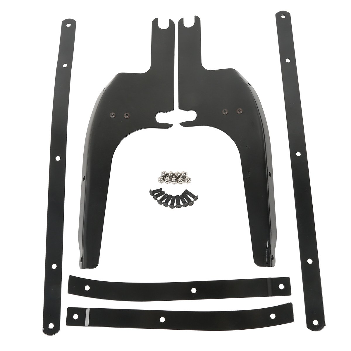 XFMT Wind Shield Screen Bracket Mount Kit Compatible with Harley Touring Road King FLHR 1994-2019 2018