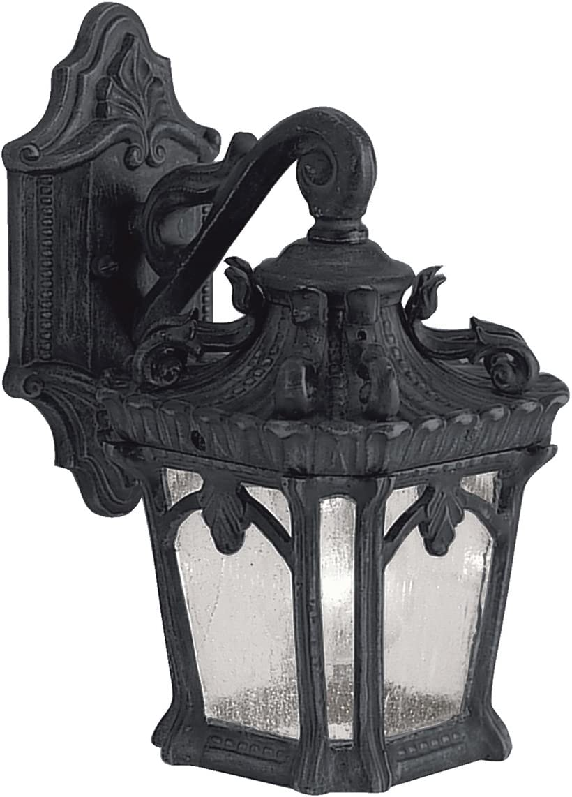Kichler 9355BKT Tournai Outdoor Wall Sconce