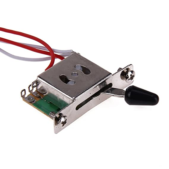 broadroot Gitarre Verkabelung Montage Geschirr 1 V2T 1jack 3–500 K ...