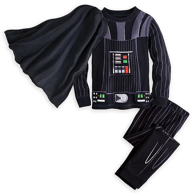 0ab439642 Star Wars Darth Vader Costume PJ PALS for Boys Black