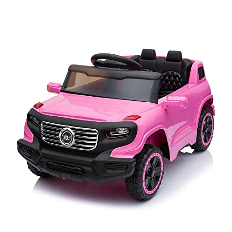 Cars That Start With W >> Amazon Com Simply Me Kids Electric Truck Ride On Car 6v
