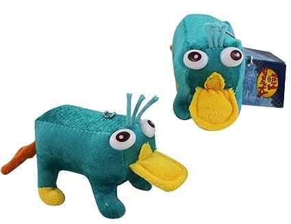 Amazon.com: Small Phineas y Ferb Perry Plush Llavero: Toys ...