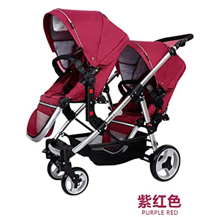 Baby Jogger City Select Lux Twin Tandem Double Stroller With Second
