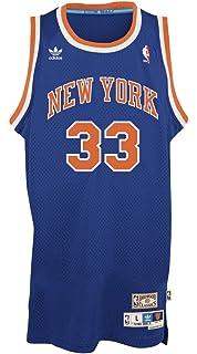 066386b8900d Patrick Ewing New York Knicks Adidas NBA Throwback Swingman Jersey - Blue