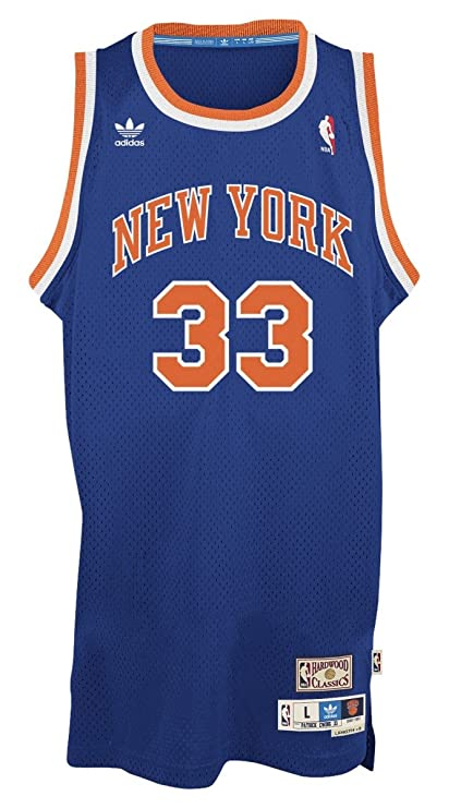 huge discount 7abca fb9cd adidas Patrick Ewing York Knicks NBA Throwback Swingman Jersey - Blue