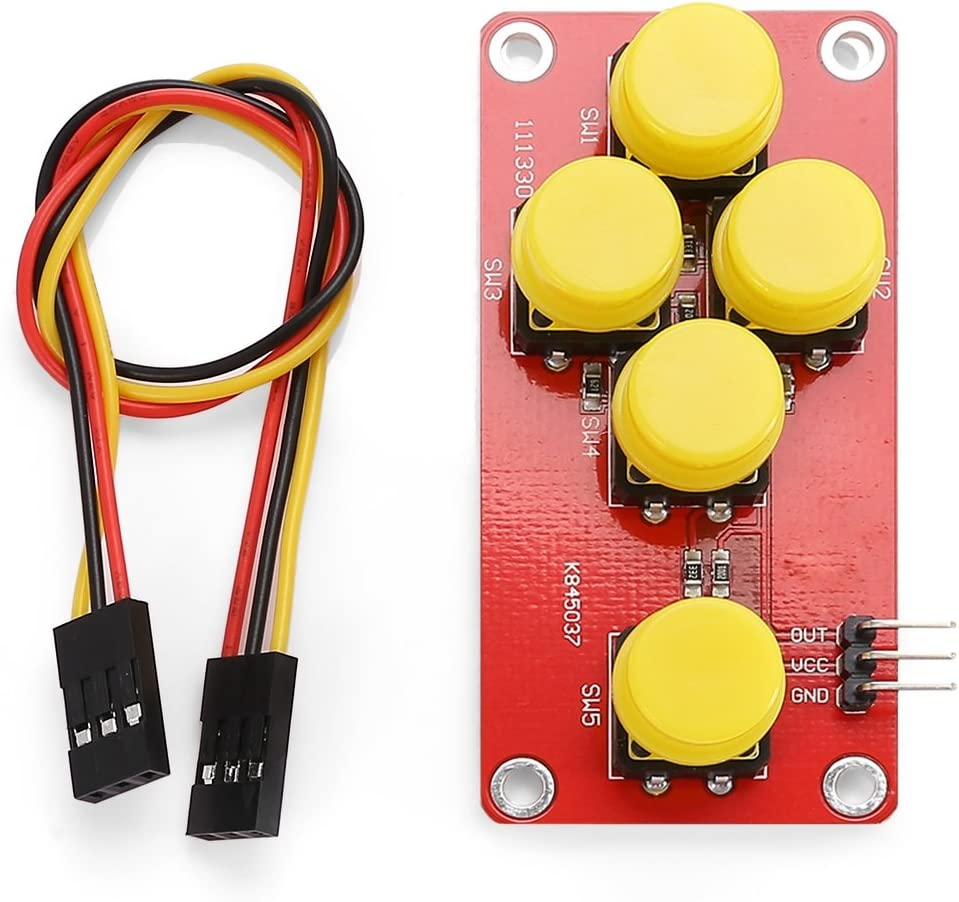 RED LDTR Nrthtri Module AD Keyboard Module for Arduino WG0076
