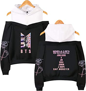 KPOP BTS Bangtan Boys Love Yourself Sweatershirt Hoodie Sweater JIMIN JIN V SUGA