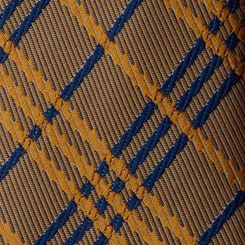 Oh La Belle Cravate Corbata marrón y azul estilo Príncipe de Gales ...