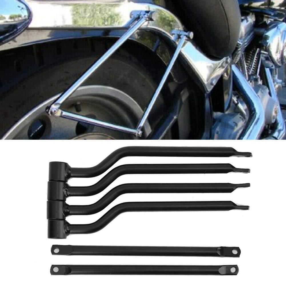 Motorcycle Universal Fixed Side Bag Refit Saddlebag Support Bar Bracket Rack