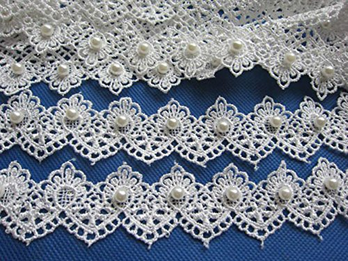 Fancy Lace Trim - YYCRAFT 5y Fancy 1.5