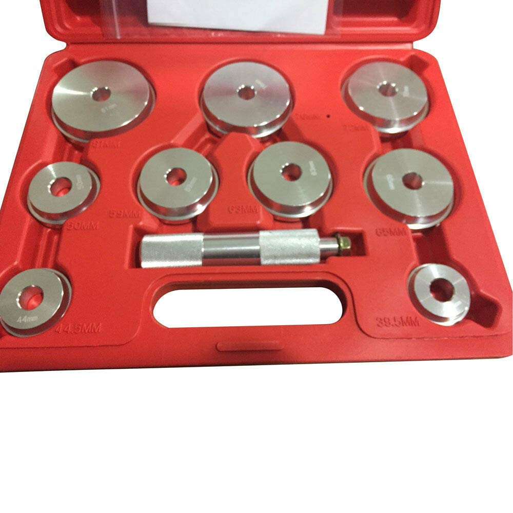 1 x 10 PCS Bearing Race Seal Install Driver 1.565'' to 3.180'' Tool Kit Set by MB