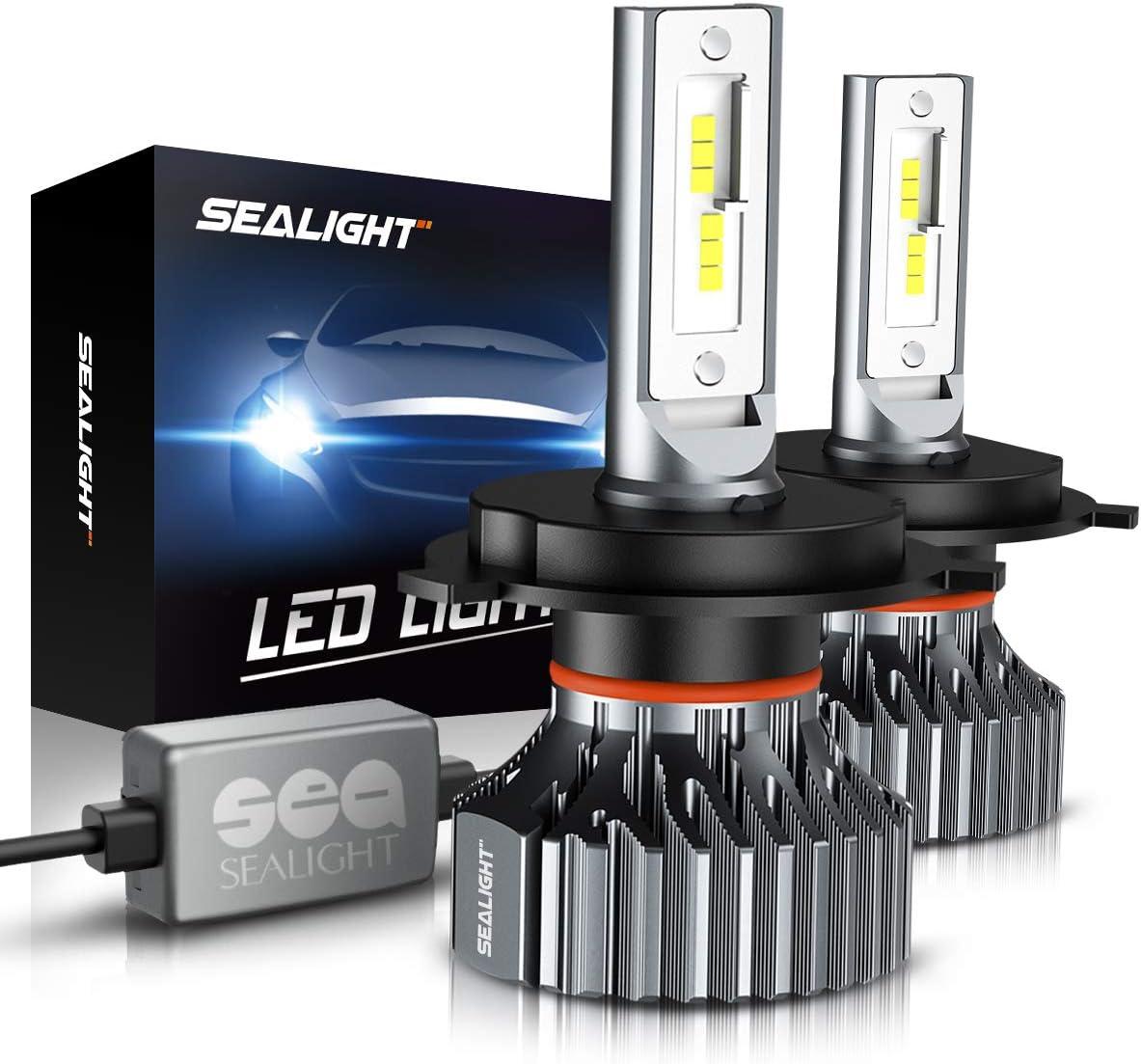 LED Headlight CREE Bulb Hi//Lo Kit 9003 H4 6K White For 2000-2001 Nissan Maxima