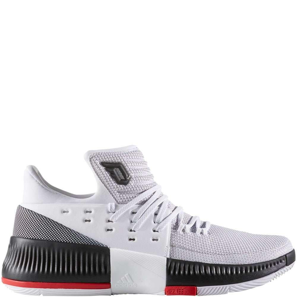 Adidas Dame 3 White/Black/Red ( BB8268 )