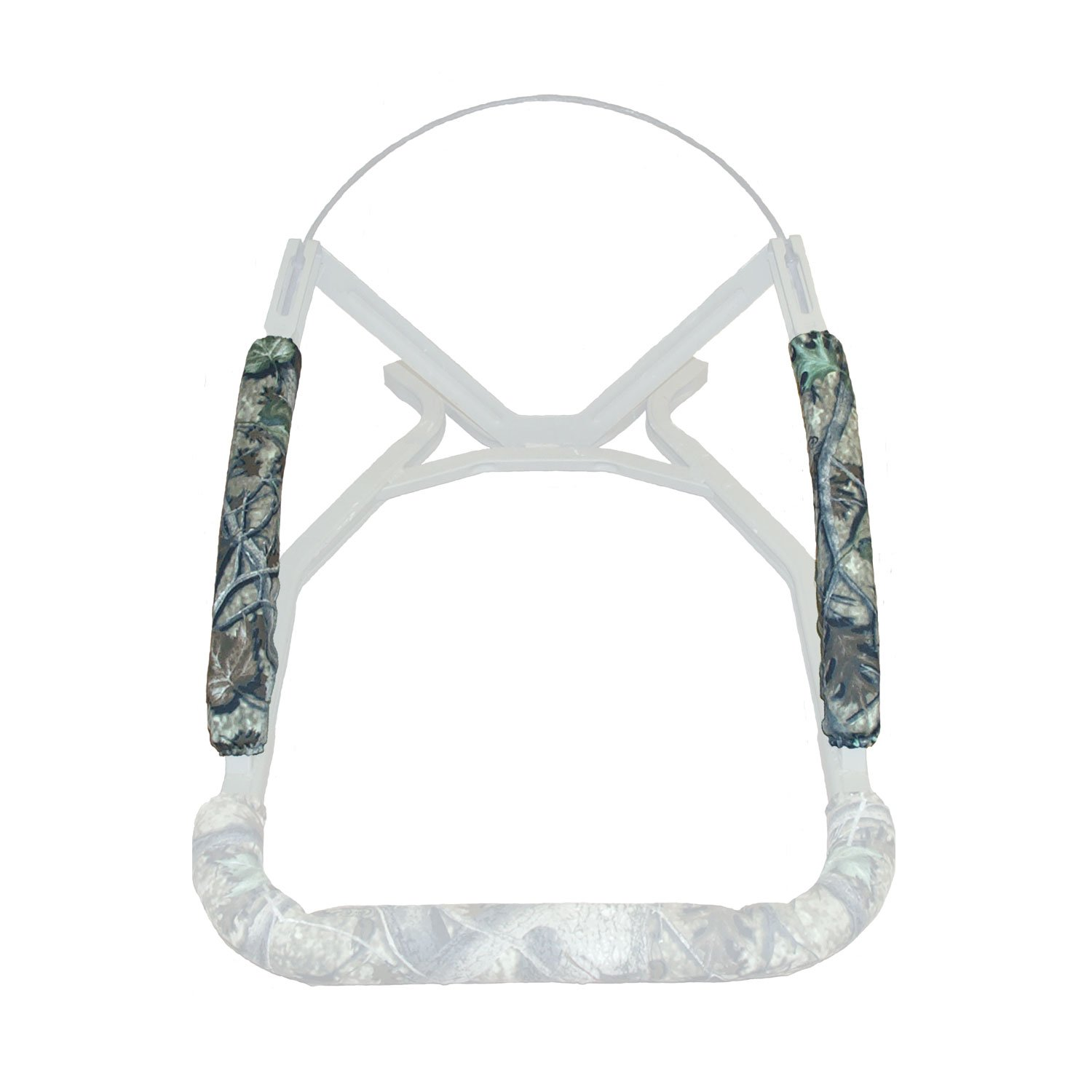 Treestand Resurrection, 15'' Arm Rail Pad Set (2), Clear Cutt Camo by COTTONWOOD OUTDOORS (Image #1)